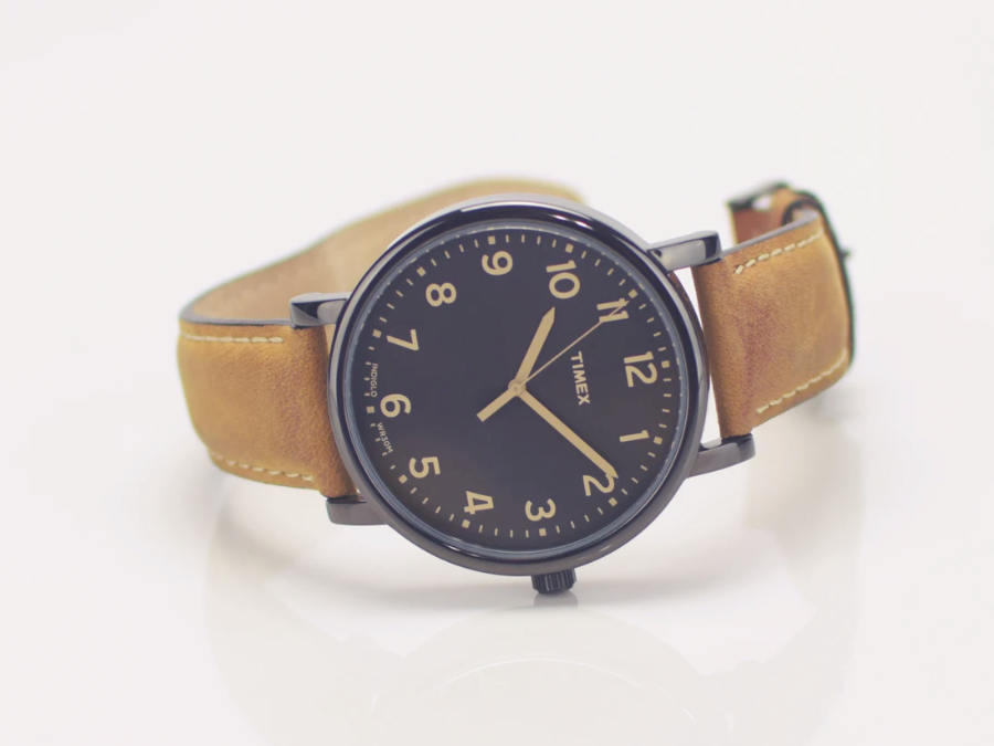 product photography of watch
