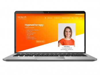 Website rebuild for 'Live Your Life Hypnotherapy'