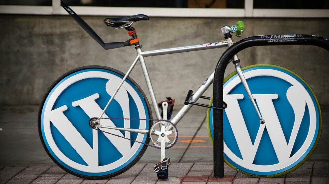Wordpress inspired bike
