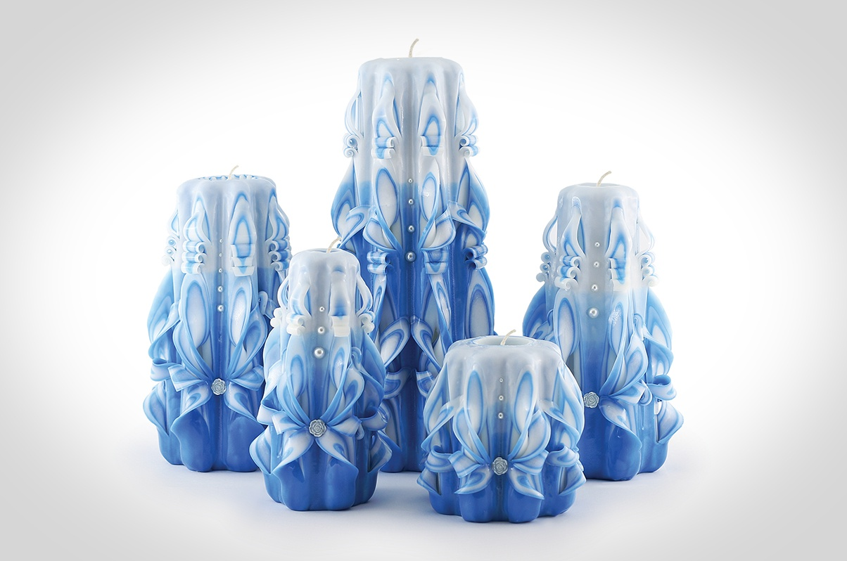 Product photography for Royal Candles